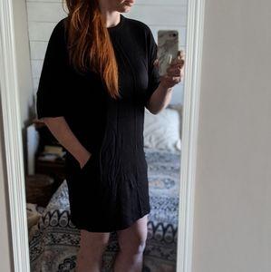 Lou & Grey Dresses - Lou & Grey   Dolman Sleeve Dress with Pockets